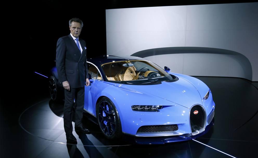 Bugatti Chiron lauto pi veloce del mondo  Corriereit