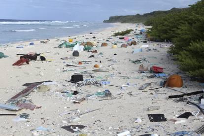 Henderson, l'isola più remota al mondo sommersa dalla plastica