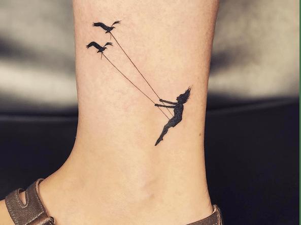 Dalle coordinate allaereo stilizzato 20 tatuaggi fashion ispirati ai viaggi  Corriereit