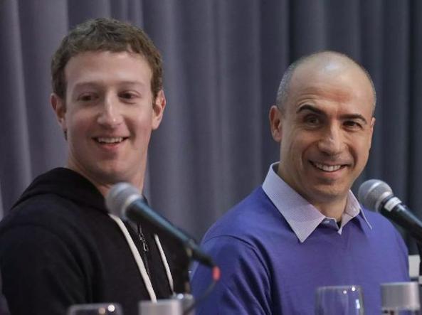 Mark Zuckerberg e Yuri Milner