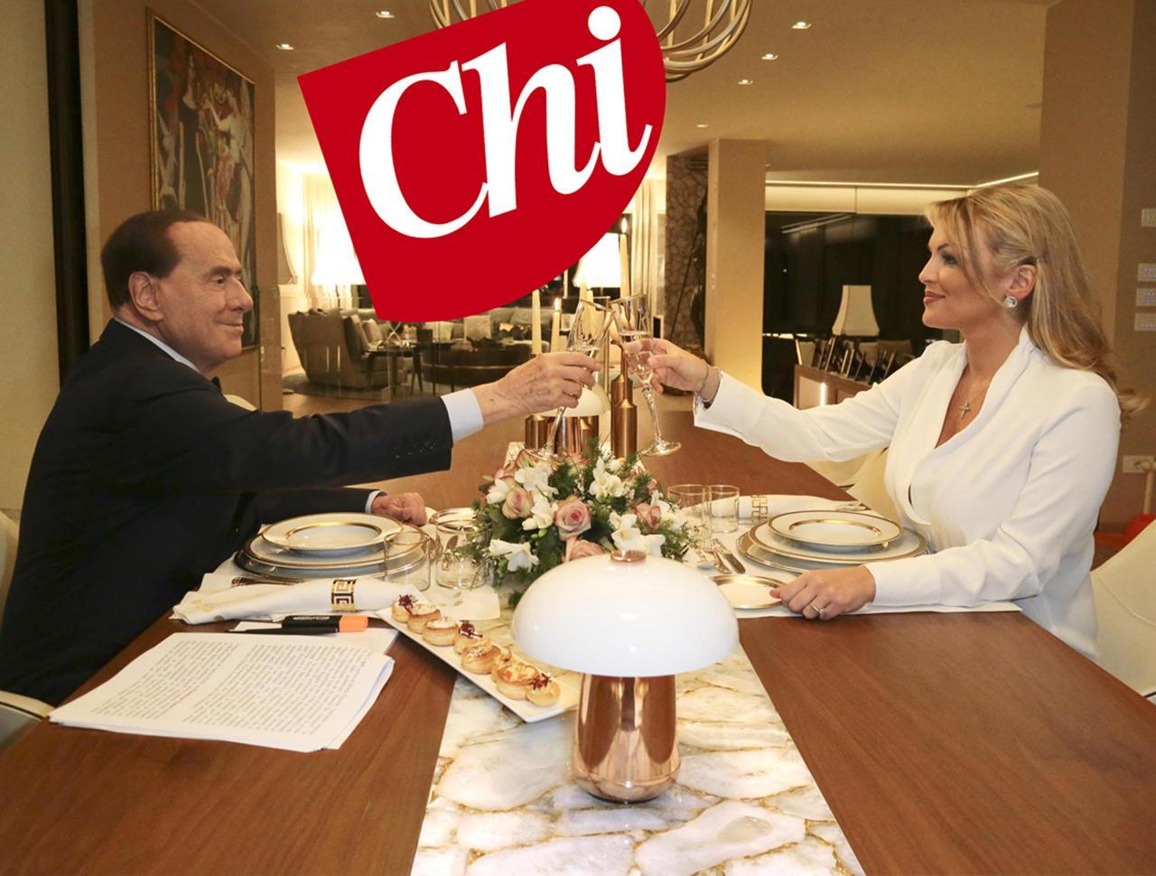 Silvio Berlusconi e Francesca Pascale le foto della