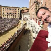 La Foto della Settimana - Fa più scandalo Salvini alle trifore dell'acquisto ANTOVENETA... Contenti voi...
