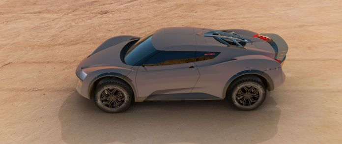 The Vision 2030 Desert Ride: debuts in a few days at the Geneva Motor Show