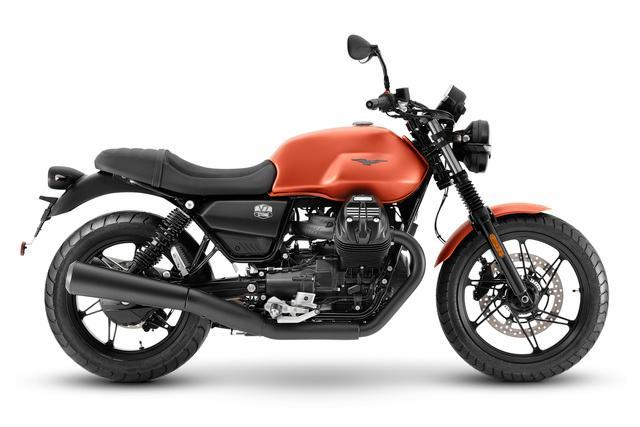 Moto Guzzi V7 स्टोन