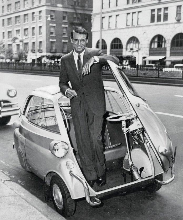 1955 में बीएमडब्ल्यू और कैरी ग्रांट की अवधि के Isetta