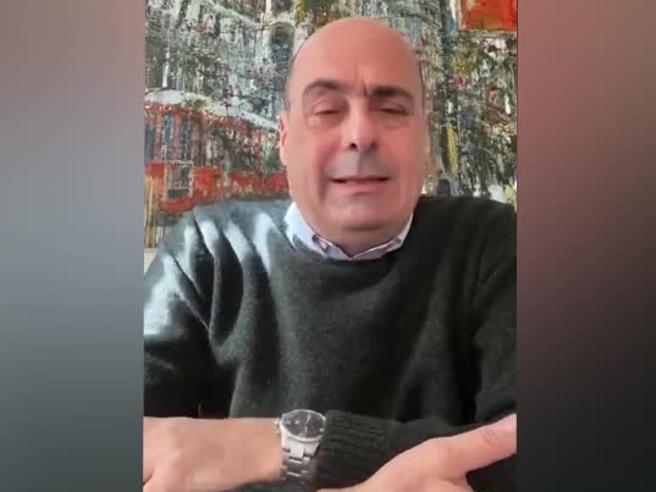 Coronavirus, l'annuncio di Zingaretti: «Sono positivo al coronavirus. Sto bene ma dovrò rimanere a casa»