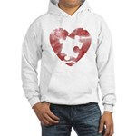 PIECE OF MY HEART Hooded Sweatshirt