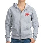 MY MISSING PIECE Women's Zip Hoodie