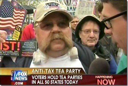 Fox Funded Teabag Protests