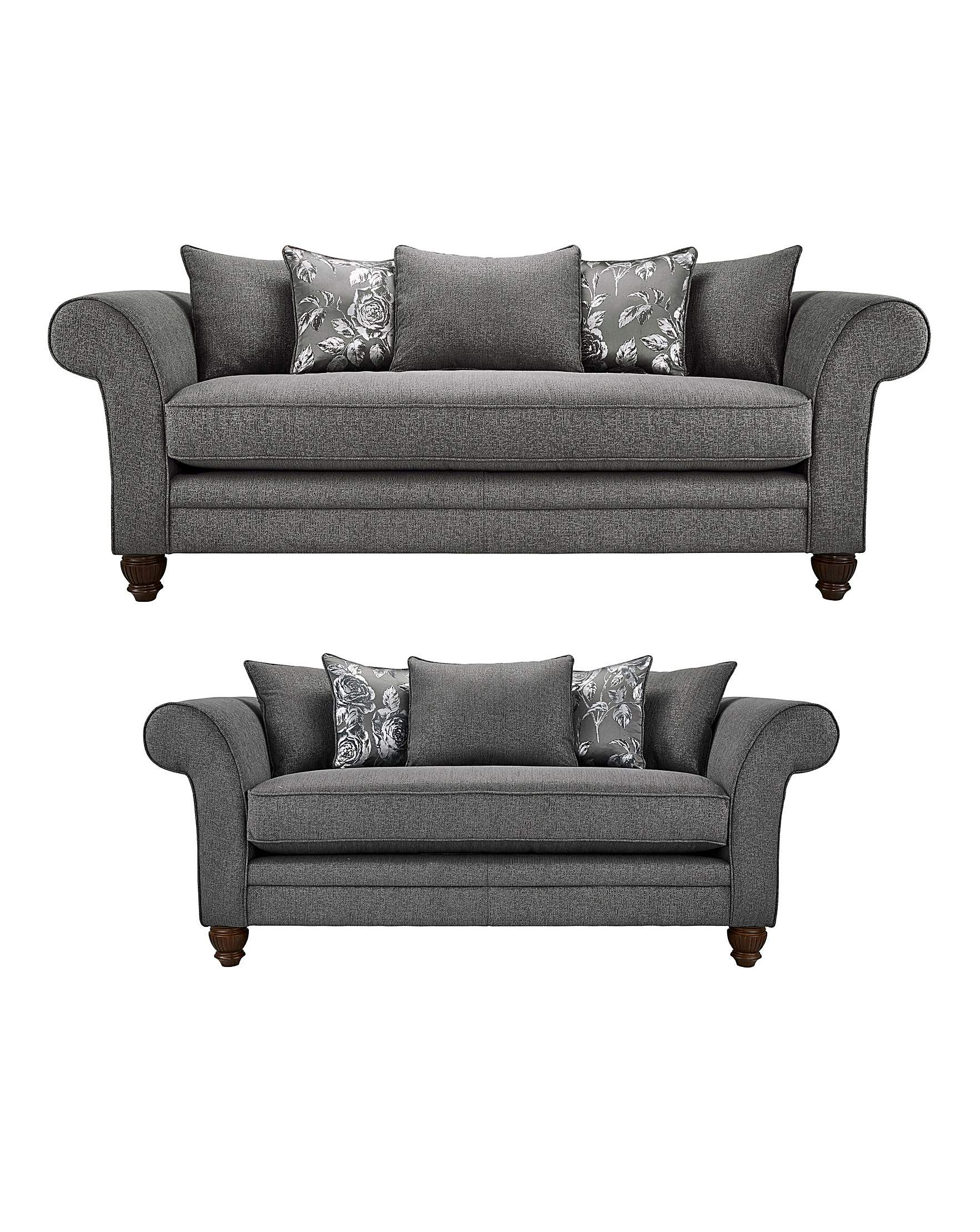 luxe 2 seat sofa slipcover fabric sectional sofas mississauga dorchester 3 plus seater marisota