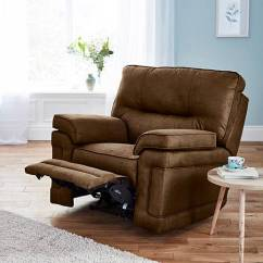 Faux Suede Sofa Cleaning Instructions Simmons Canada Beds Luxury Manual Recliner Chair House Of Bath