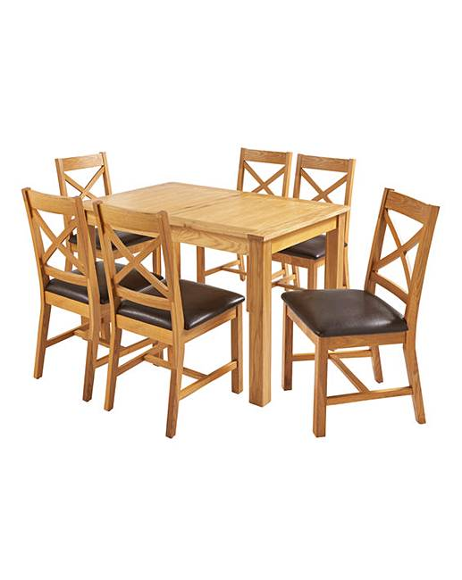 table and 6 chairs black pedestal dining norfolk large extending j d williams