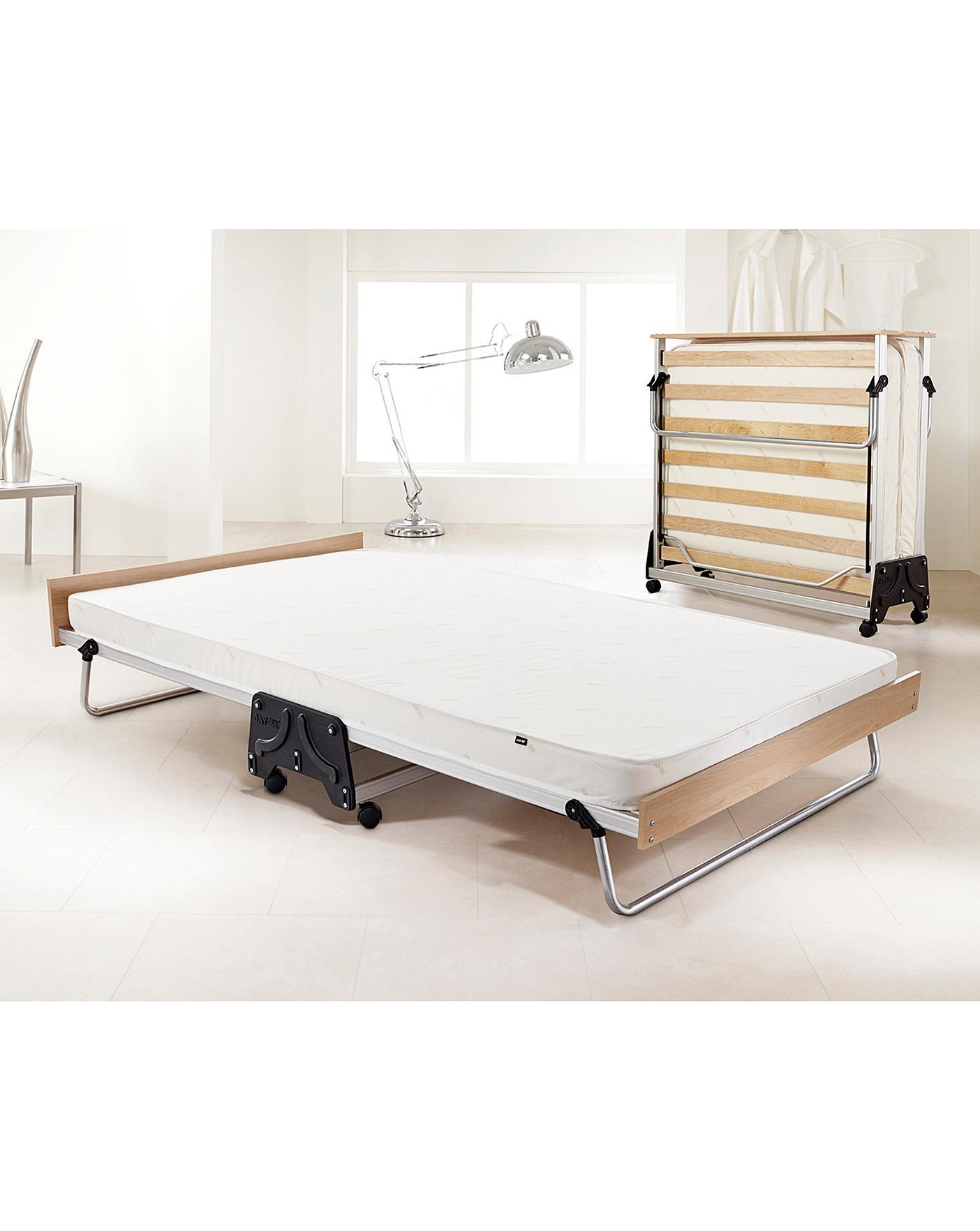 J Bed Double Fold Bed E Fibre Mattress J D Williams