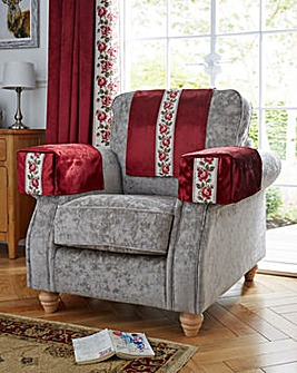 guineys dining chair covers ikea loose sofa for sofas fitted rose trim velvet back