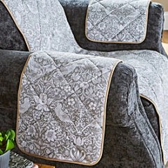 Guineys Dining Chair Covers Race Car Office Nz Loose Sofa For Sofas Fitted William Morris Strawberry Arm Caps