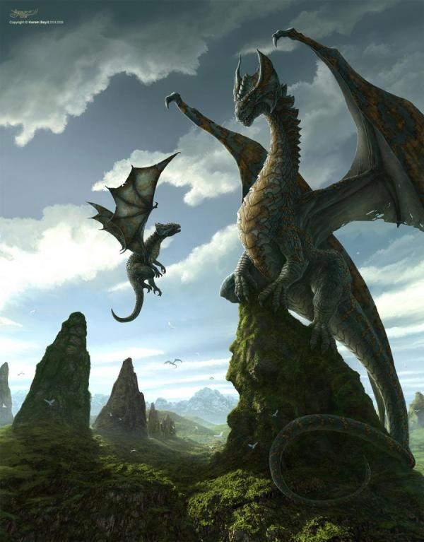 Dragons Hd Wallpaper And Background 10037919