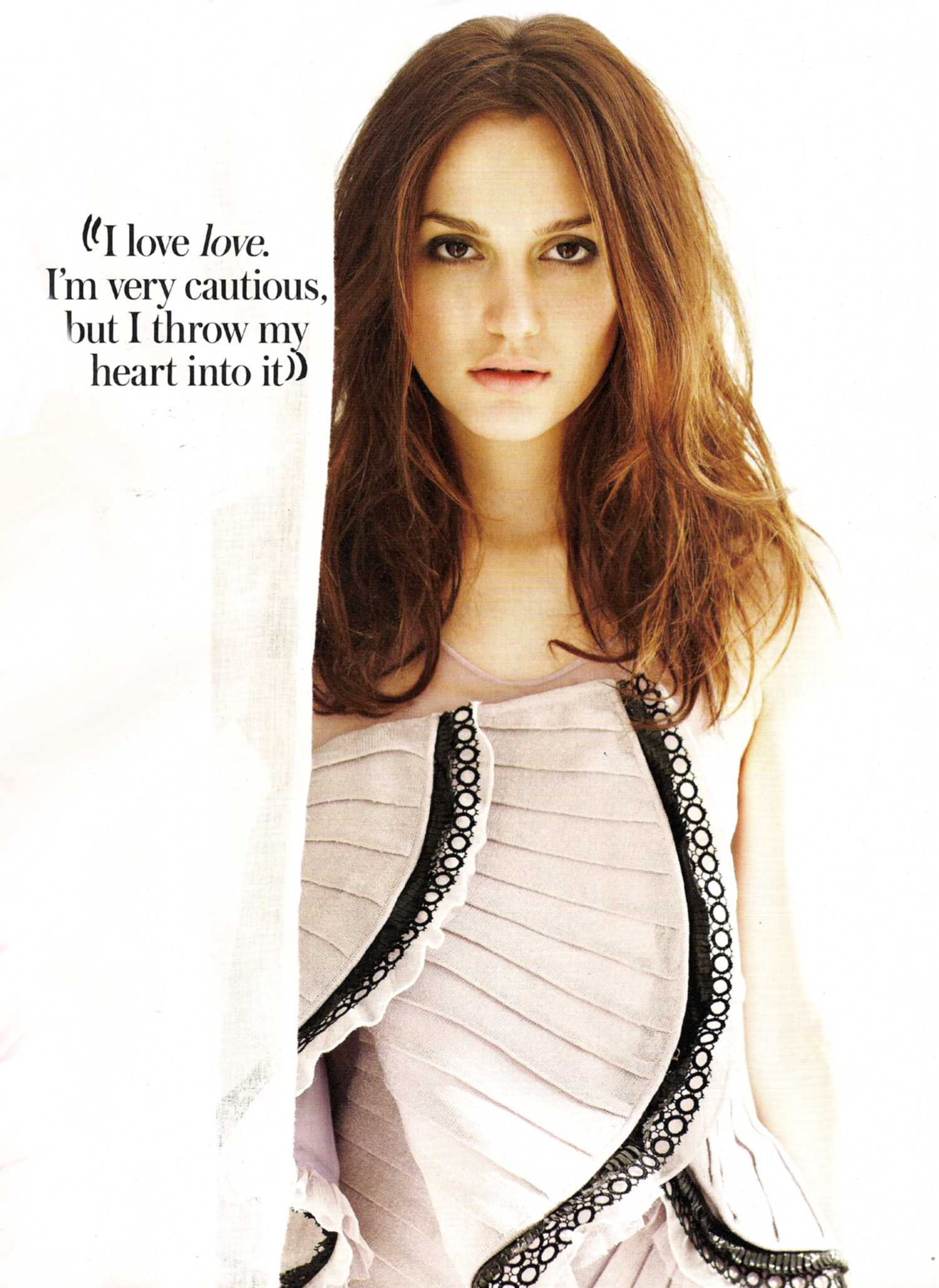 Fall Wallpaper Images Instyle Uk March 2010 Leighton Meester Magazine Scan Hq