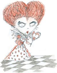 Alice in Wonderland (2010) images Red Queen Concept Art