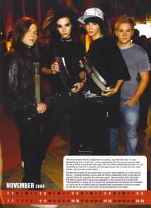 2008 Calendar - Tokio Hotel 10560694 Fanpop