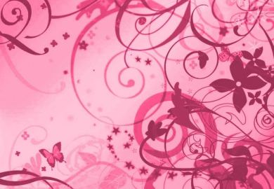 Pink Zebra Print Bedroom Wallpaper