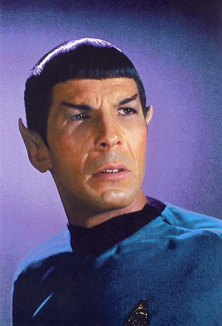 Leonard Nimoy Spock Farewell, Mr. S...