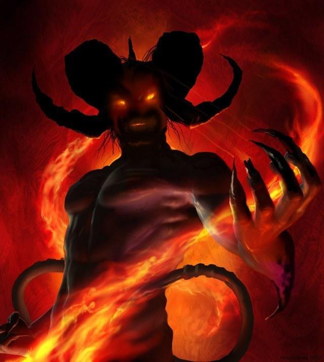 fire demon demon morality