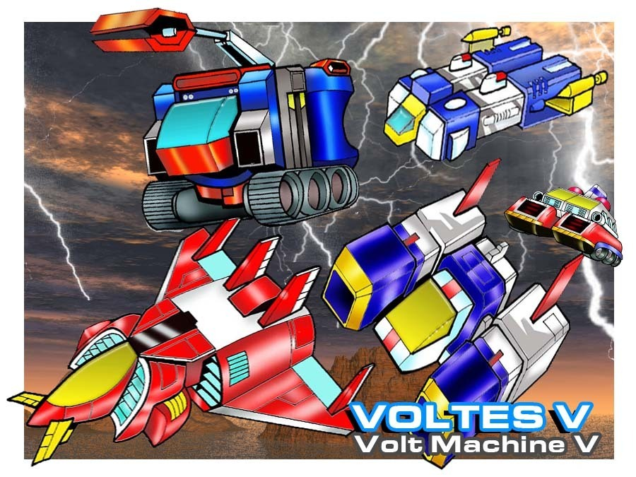 Voltes V Wallpaper Hd Voltes V Images Volt Machine V 02 Hd Wallpaper And