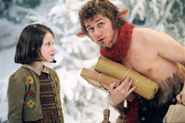 Image result for lucy and mr tumnus