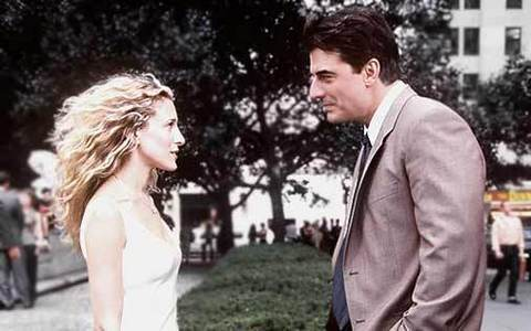 Image result for carrie bradshaw and big