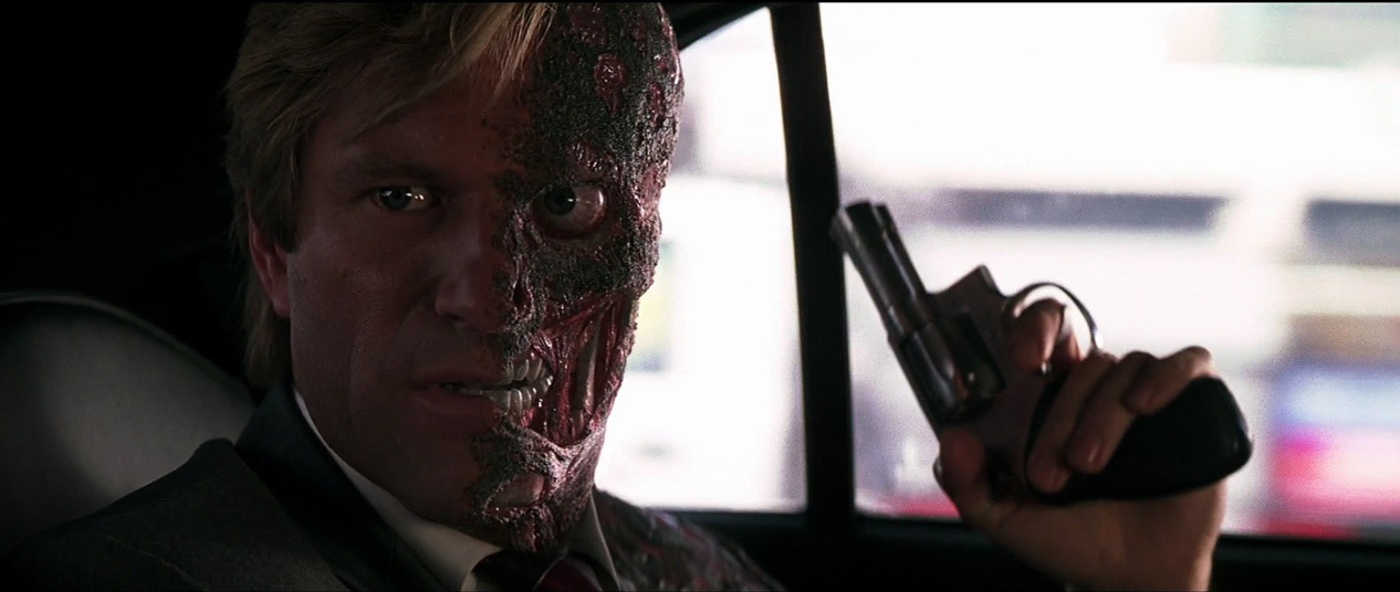Image result for two face dark knight