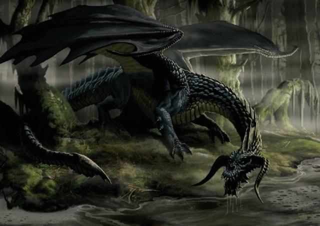 Image result for black dragon