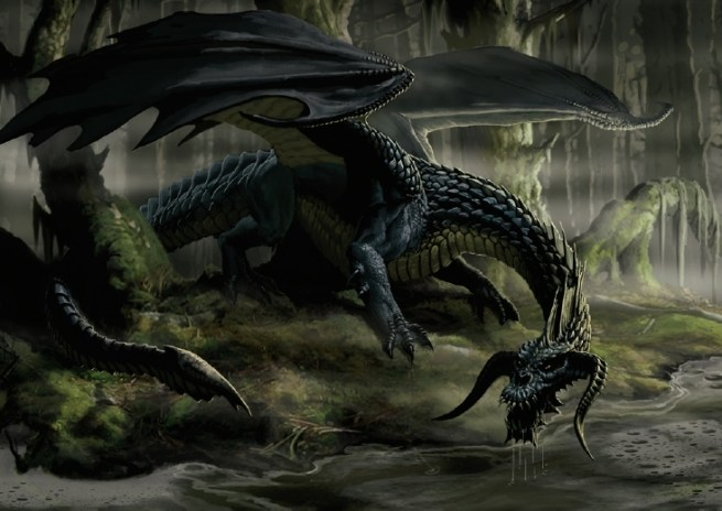 Image result for black dragon