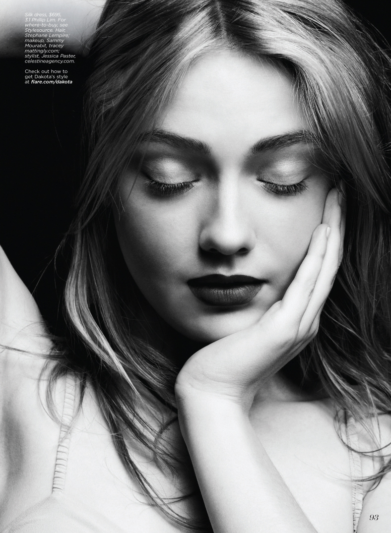 Dakota Fanning - Flare Magazine 2010 August - dakota-fanning photo