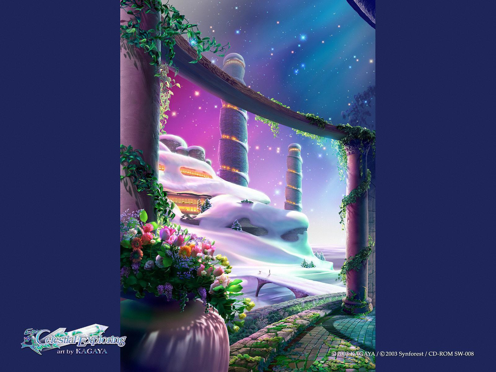 Cute Wallpapers In Full Hd Best Fantasy Wallpapers Of Author Kagaya Yutaka Fantasy