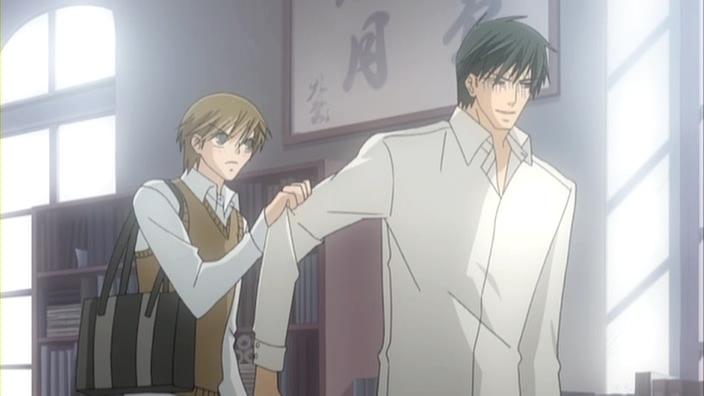 Image result for junjou romantica miyagi and shinobu