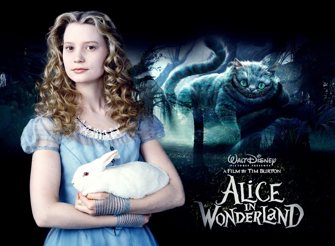 Falling Down The Rabbit Hole Wallpaper Alice In Wonderland Alice In Wonderland 2010 Photo