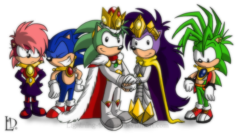 King And Queen Sally Sonic
