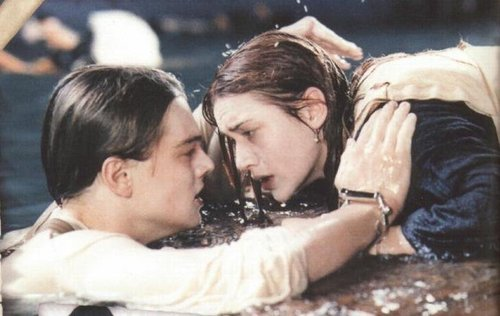 Image result for titanic door scene