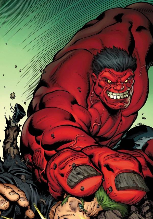 Marvel Red Hulk
