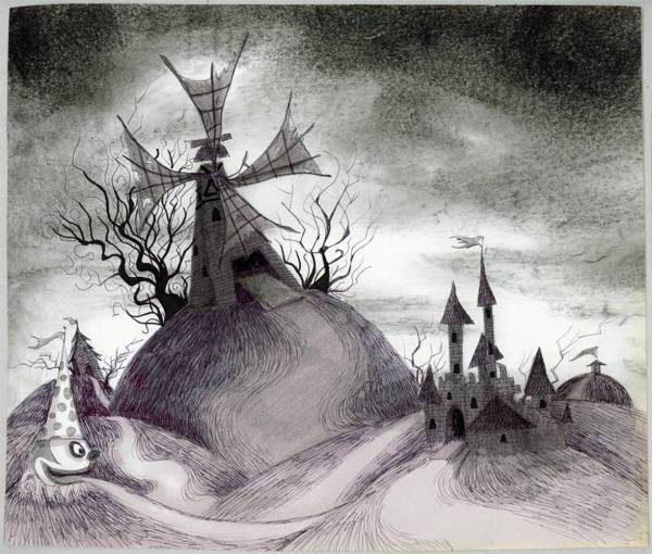 Tim Burton Art Drawings