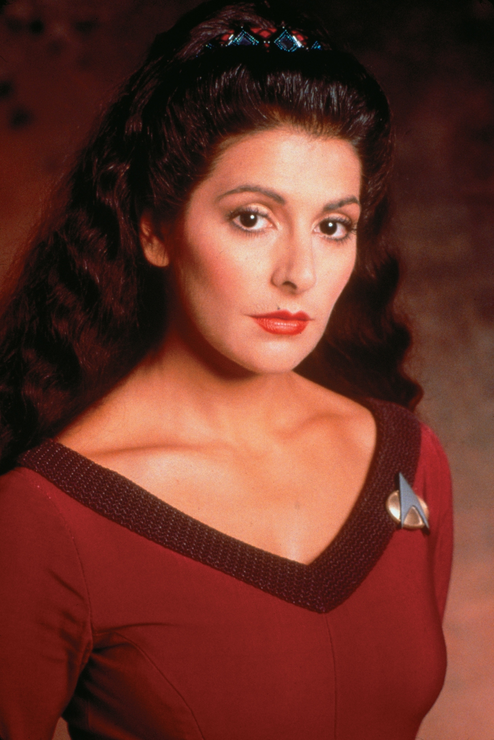 hight resolution of counselor deanna troi