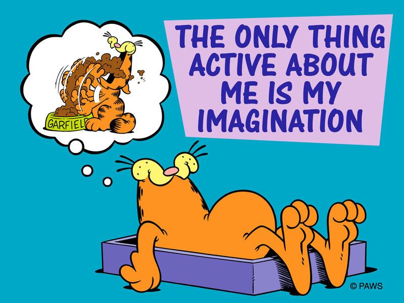 Garfield Friday Cartoon