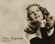 rita hayworth - wallpaper
