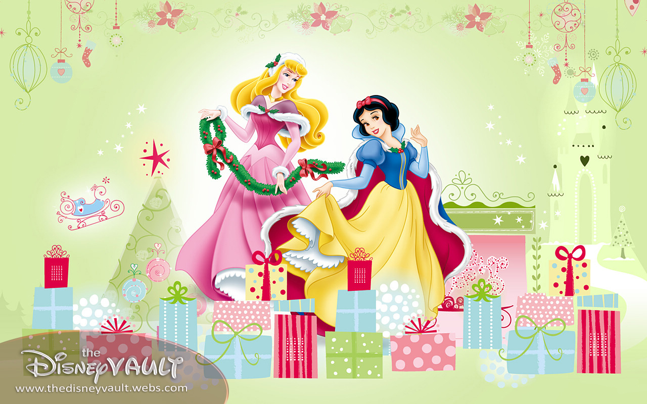 disney princess christmas wrapping paper