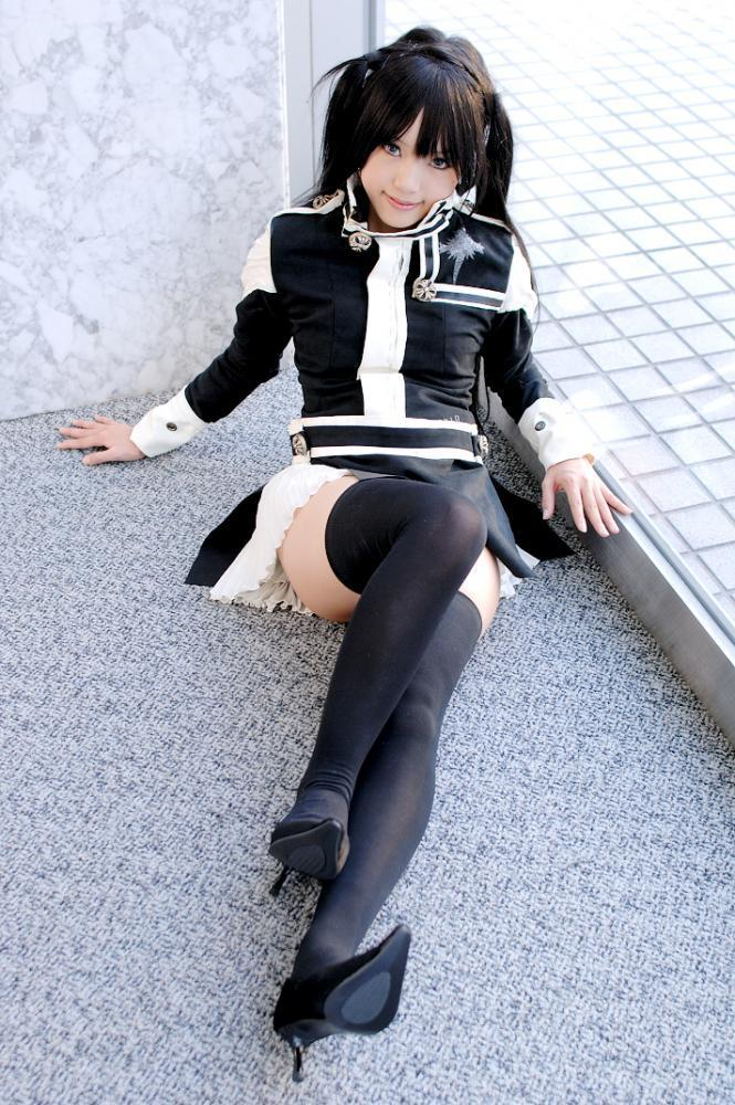 Wallpaper Black And White Girl Kipi Cosplay Kipi Cosplay Photo 9791189 Fanpop