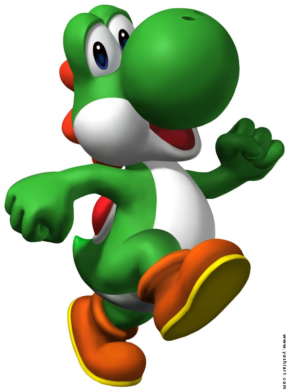 Super Mario Fanpop Yoshi Love Wwwgenialfotocom
