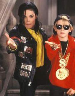 "Michael Jackson and Macaulay Culkin ""Black Or White"""