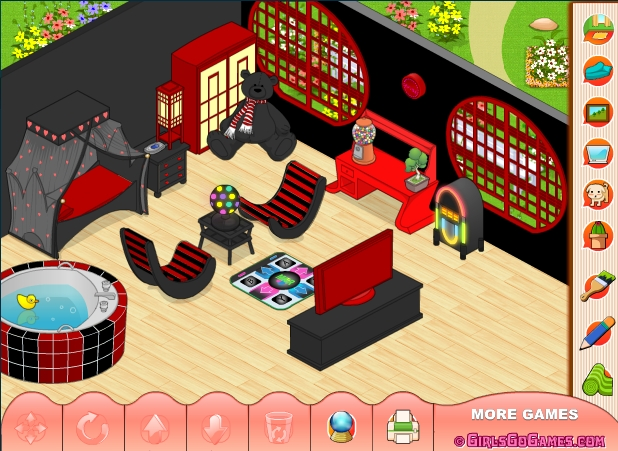 Decorate my room games for My room decoration games