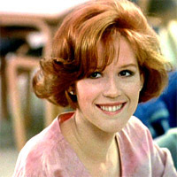 claire breakfast club hair characters short female fanpop lucille ball
