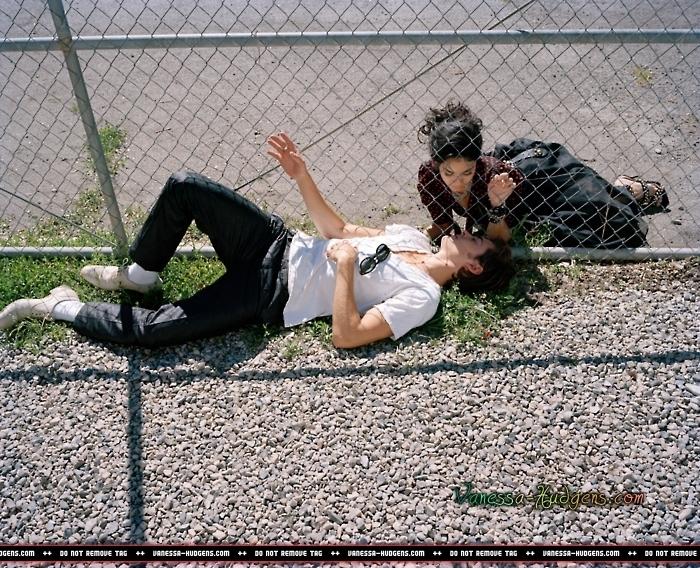 Zac Efron And Vanessa Hudgens Photo Shoot. Two Disney Celebrity couples have